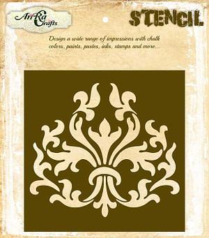 stencil design for wall