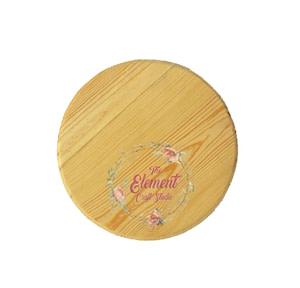 mdf simple circle plate