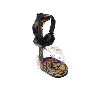 mdf headphone stand,wood,craft,bases