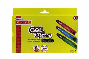 Camel Metallic Gel Crayons