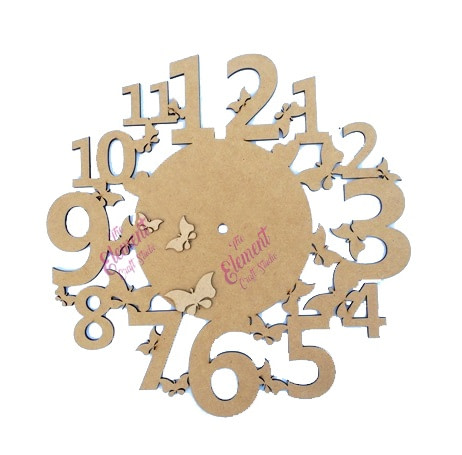 wall clock made in mdf, home decor product