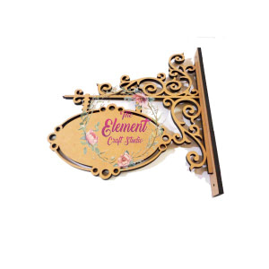 Victorian Name Plate
