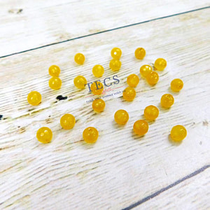 Ollive Natural Agate Stone Beads 6mm