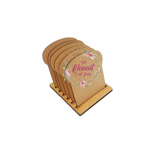 mdf coaster set,kitchen product