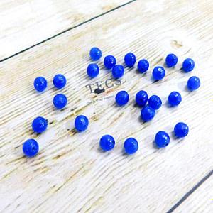 Ultramarine Natural Agate Beads 6mm