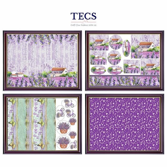 Lavender Cottage Set