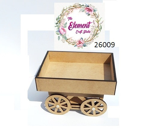 Movable Thela Cart Tray