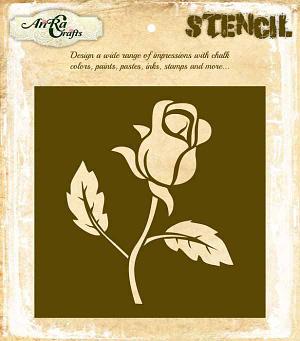 Flower Stencil Design