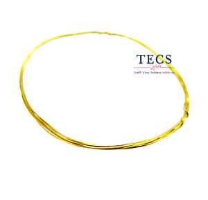 Gold Plated Brass Wire 22 Gauge