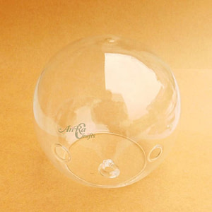 Glass Round Terrarium Base