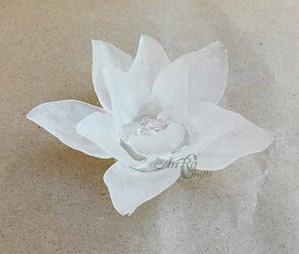 Resin Flower Design