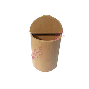 tissue and napkin holder made in mdf, wood, craft product