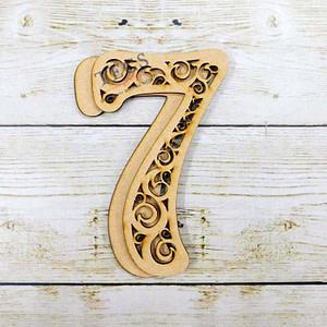 Filigree Number-7