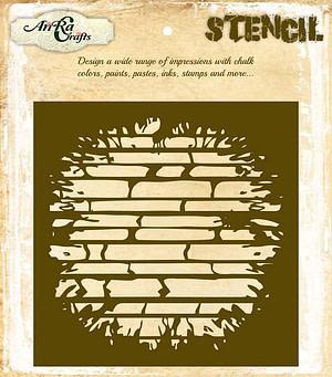 Brick Stencil Design