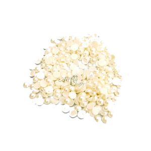 Electroplating White Pearls