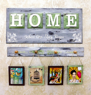 Gallery Area Wall Art- HOME