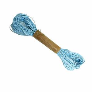 Blue Paper Dori With Golden Wire