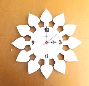 Acrylic clock online