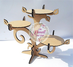 mdf cake stand,wood,craft,bases