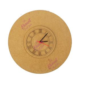 wall clock,mdf clock,wood clock
