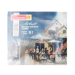 Camel Artist Water Colour Pack Of 18 Shades