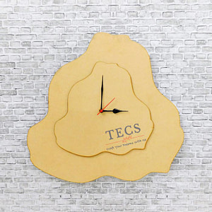 Two Layer Geode Clock Base