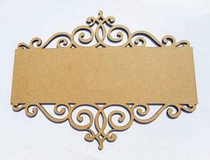 Wood Name Board Design