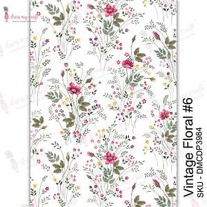 Vintage Floral #6 - Transfer Me