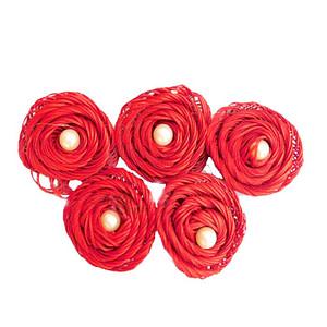 Rafia Rose Red