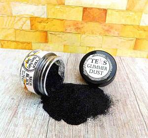 Black Micro Glitter