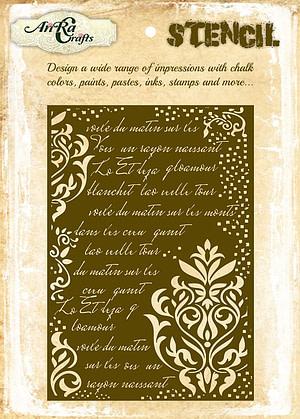 calligraphy Stencil