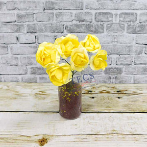 Mulberry Paper Rose Light Yellow