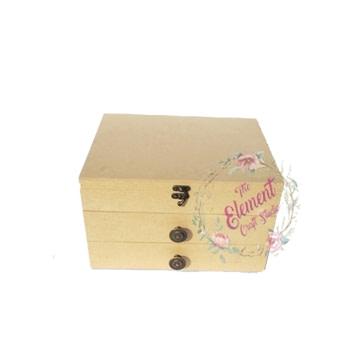 drawer box,beautiful look,wood color