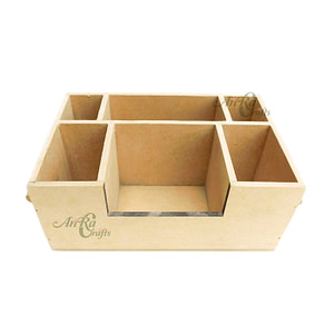 Mdf Cutlery Holder With Partition