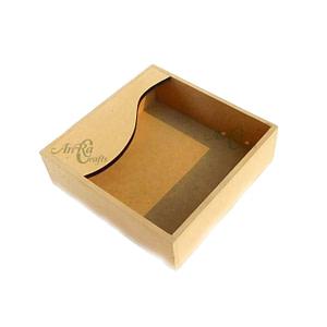 tissue holder wooden