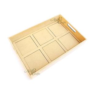 6 Tile Fusion Tray