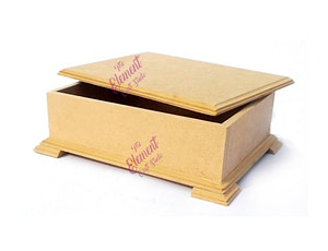 box made in mdf, wood color,multipurpose