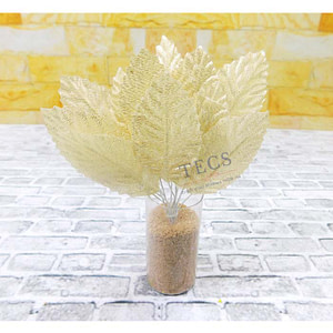 Golden leaves for crafting