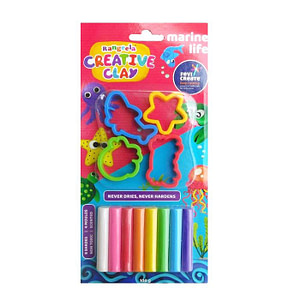Rangeela Creative Clay 8 shade pack