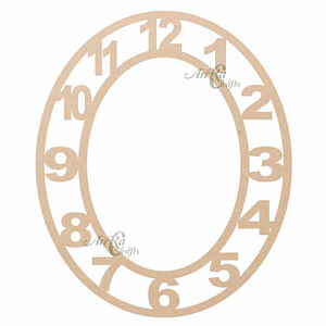 MDF Embellishments For Clock