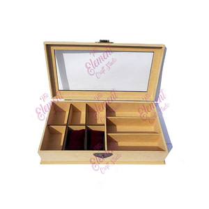 mdf box,craft,wood