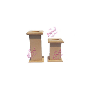 mdf candle stand