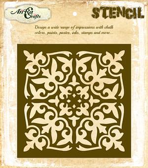 Moroccan Tile Stencil 11