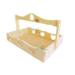 Natural Wood Basket Online