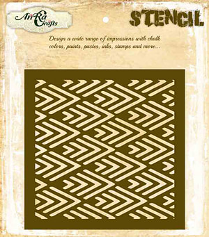 Geometric Pattern Stencil