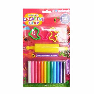 Rangeela Creative Clay-12 shade pack