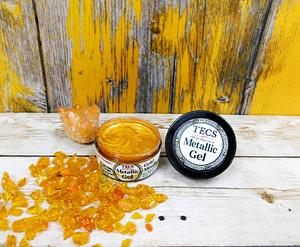 Gold Metallic Gel Pigment Paste