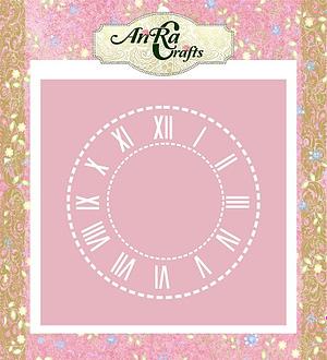 stencil clock dial
