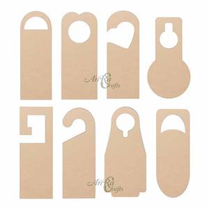 wooden doors tag design