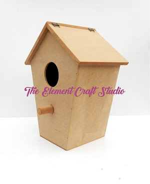mdf birds house,craft product,wood
